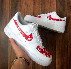 Womens Designer Swoosh & Toe Box Air Force One