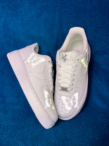 Mens Reflective Butterfly Nike Air Force One