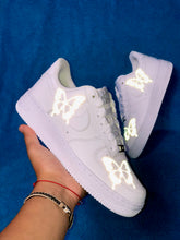 Load image into Gallery viewer, Mens Reflective Butterfly Nike Air Force One