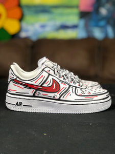 Mens Nike 2D Drawing Air Force One