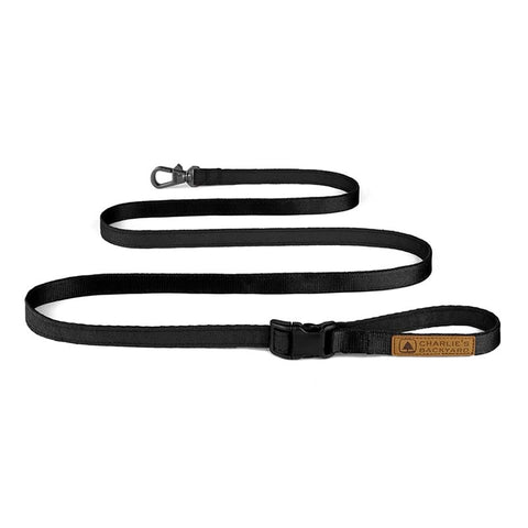 Easy Adjustable Leash - Black