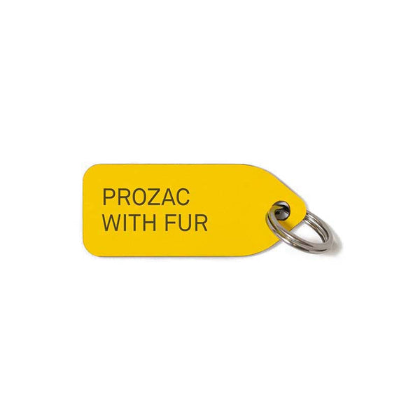 'Prozac With Fur' Dog Collar Charm
