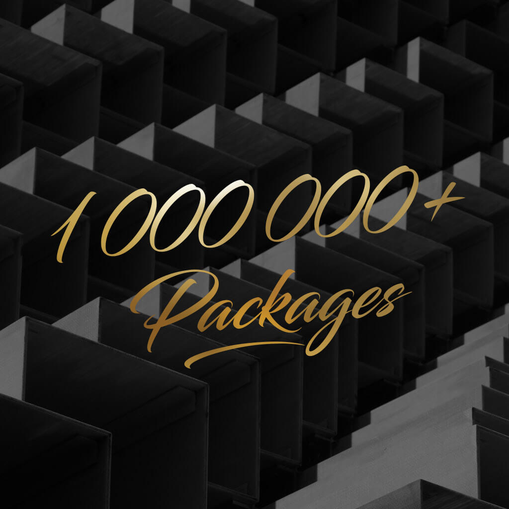 1 million packages roxie cosmetics