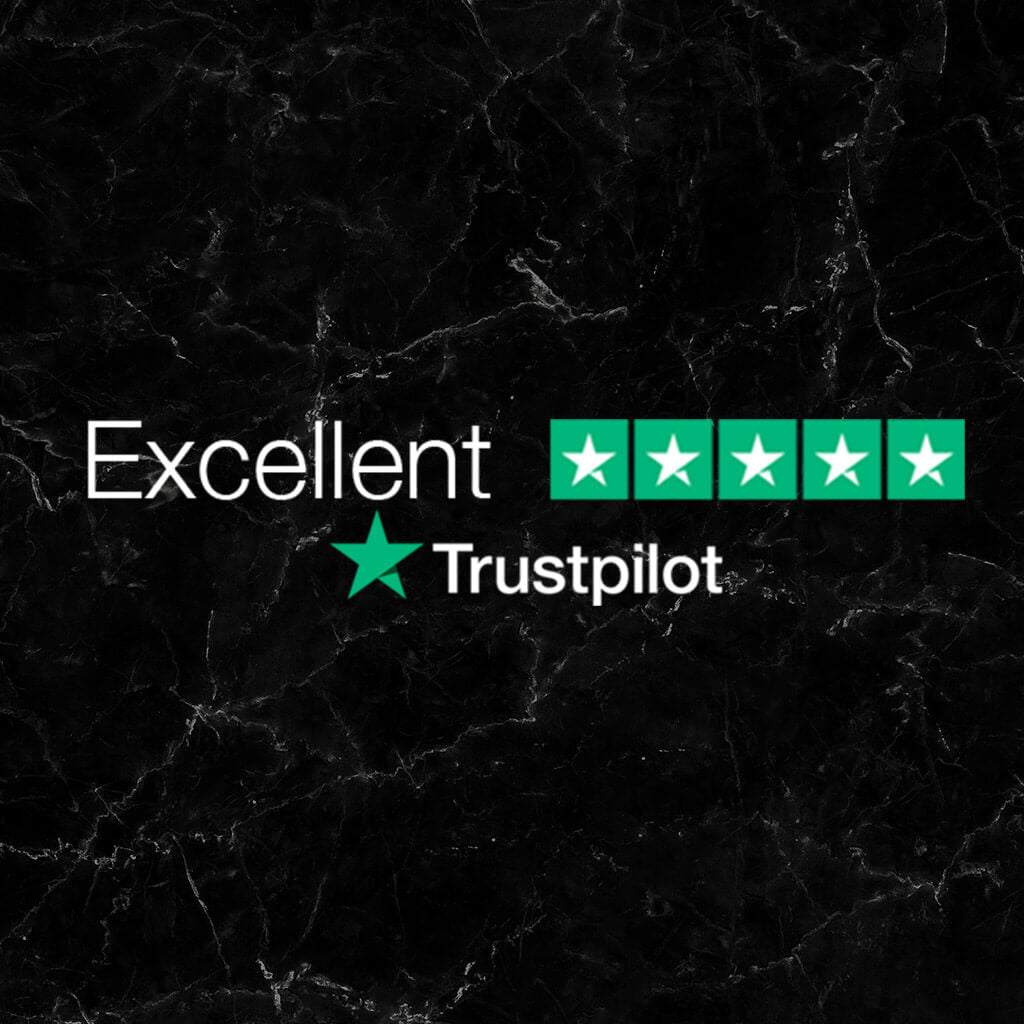 excellent rating on trustpilot