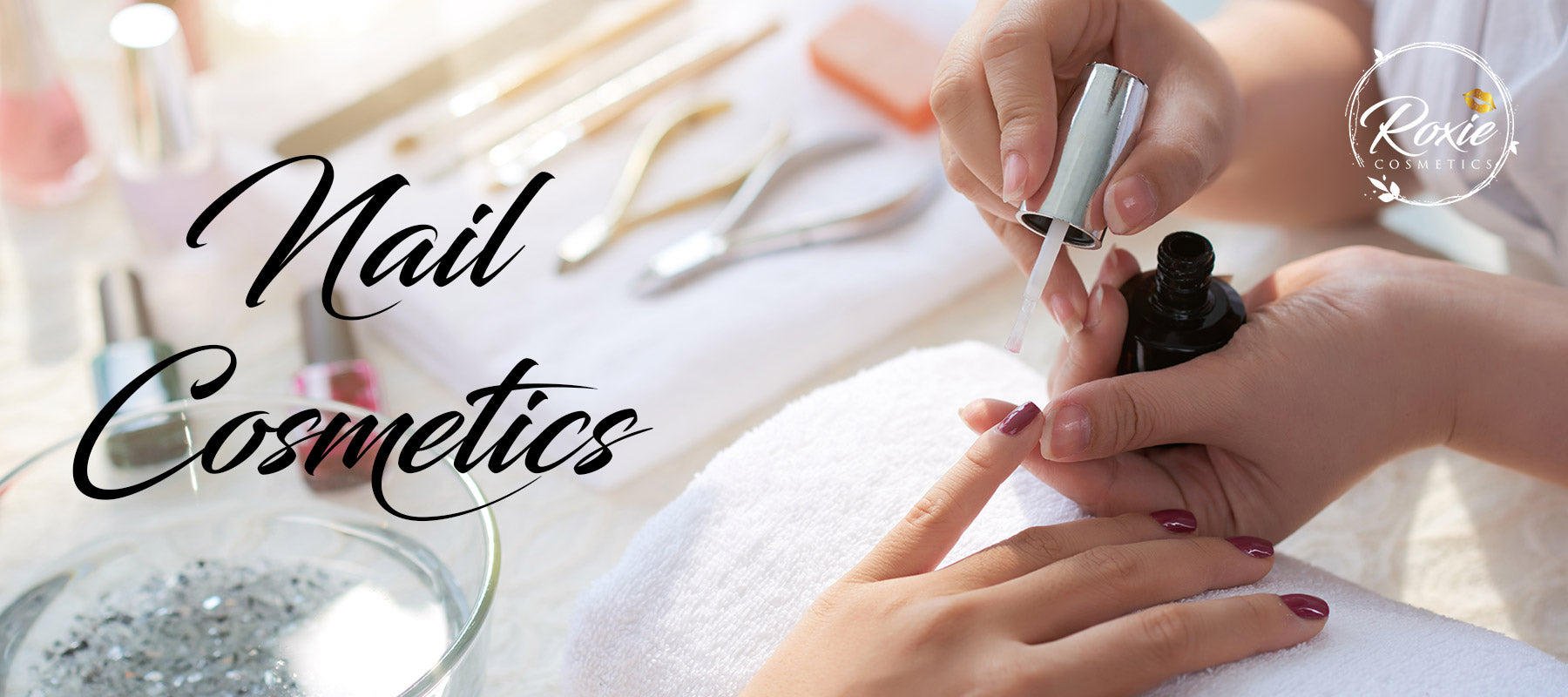 nail care beauty roxie cosmetics