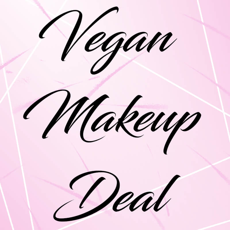 vegan makeup deal