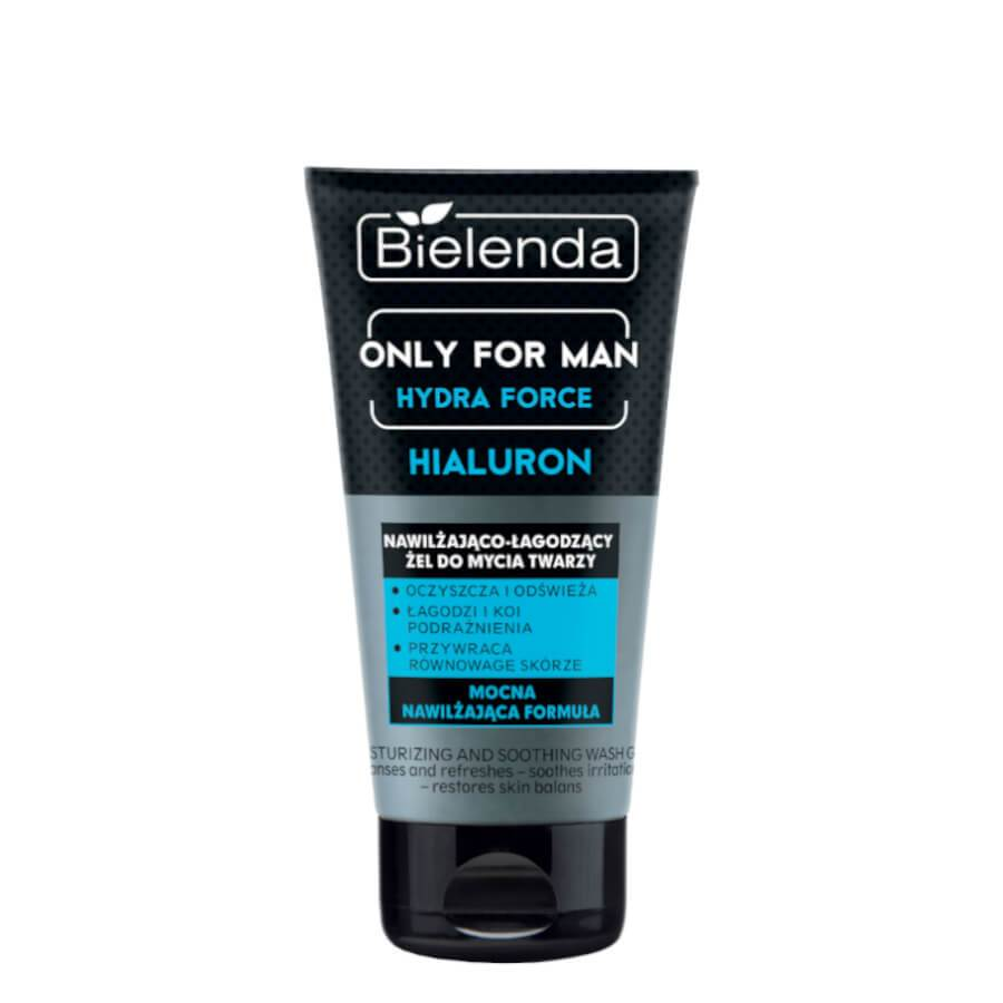 bielenda only for men misturizing and soothing wash gel for face