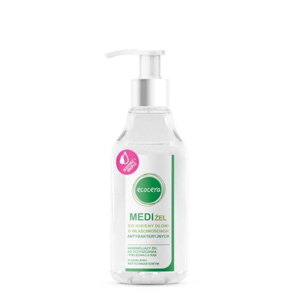 ecocera vegan friendly medi gel antibacterial 200ml