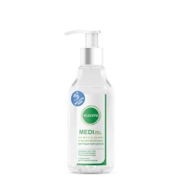 ecocera medi gel hand wash 200ml vegan friendly