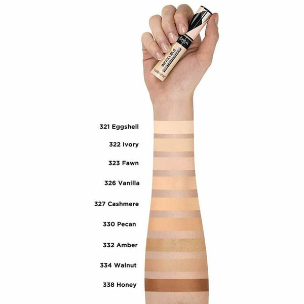 infallible more that concealer under eye creamy shades