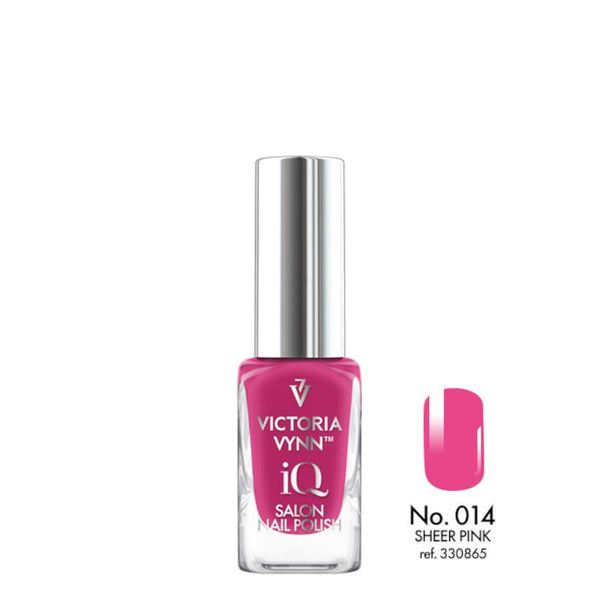 Victoria Vynn IQ Nail Polish Sheer Pink 014 10ml