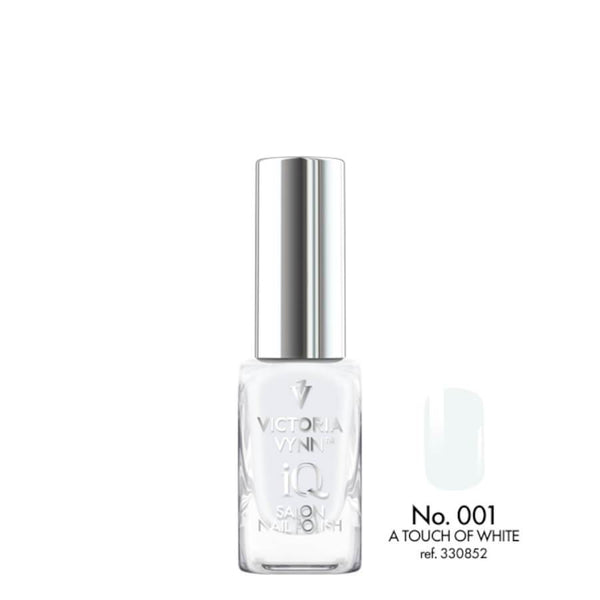 Victoria Vynn IQ Vegan Nail Polish A Touch Of White 001 10ml