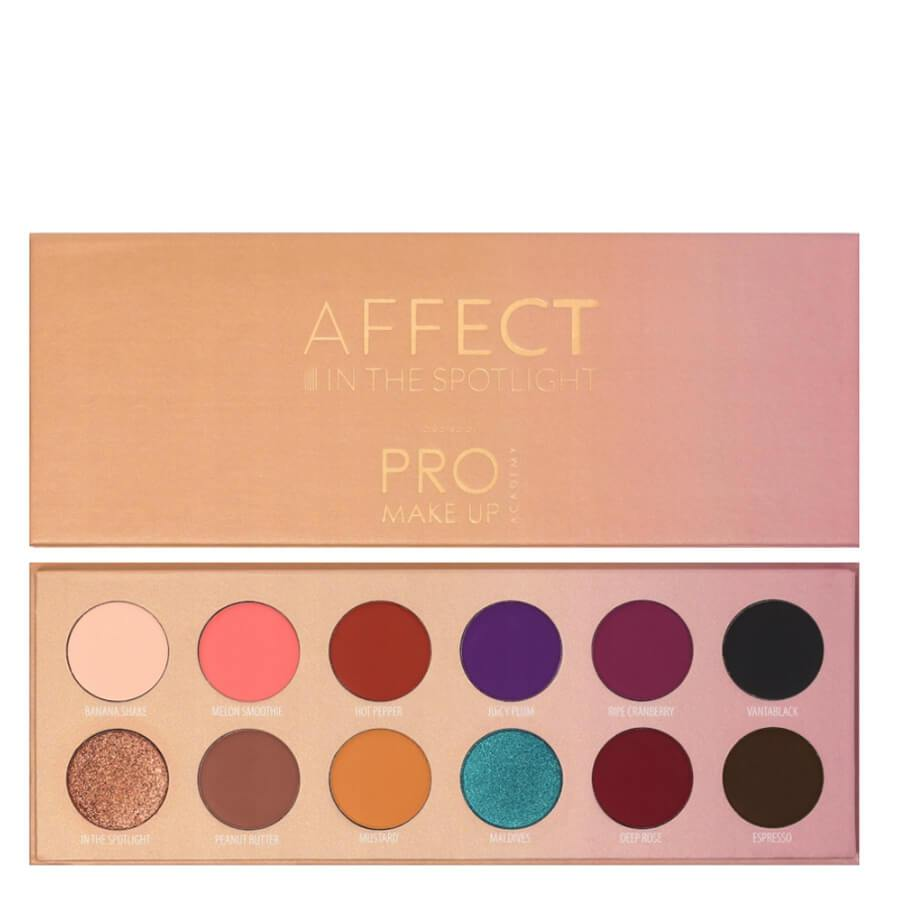 affect in the spotlight makeup palette