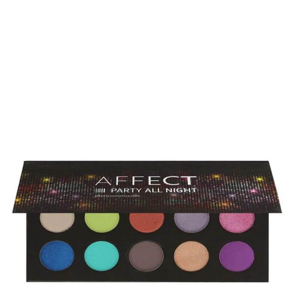 party all night makeup palette colours