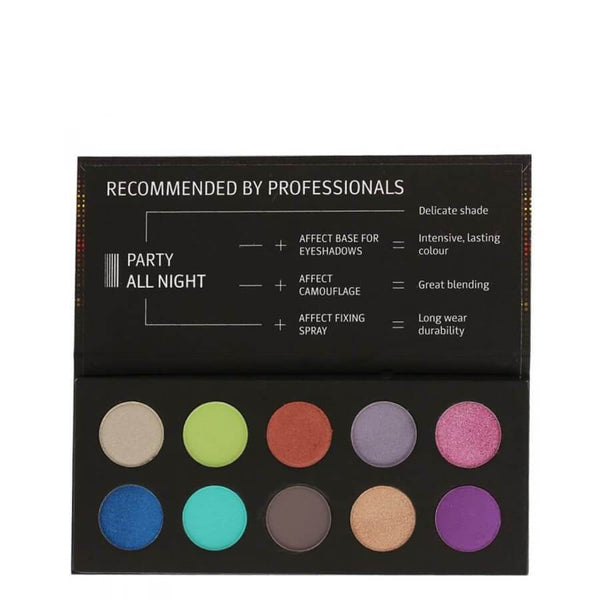affect cosmetics party all night makeup palette