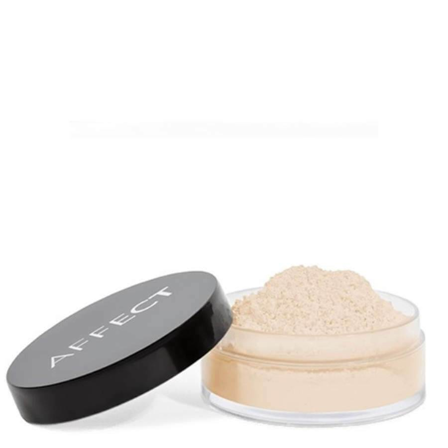 peal loose powder affect cosmetics