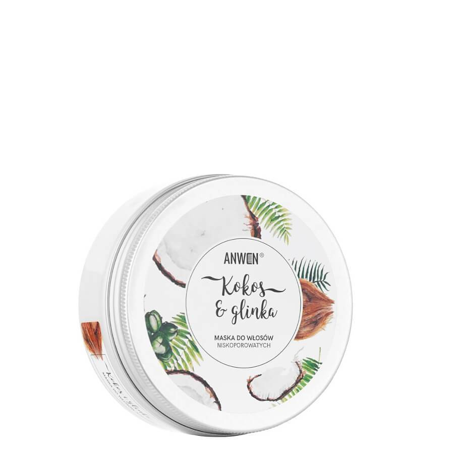 anwen coconut and clay hair mask low porosity