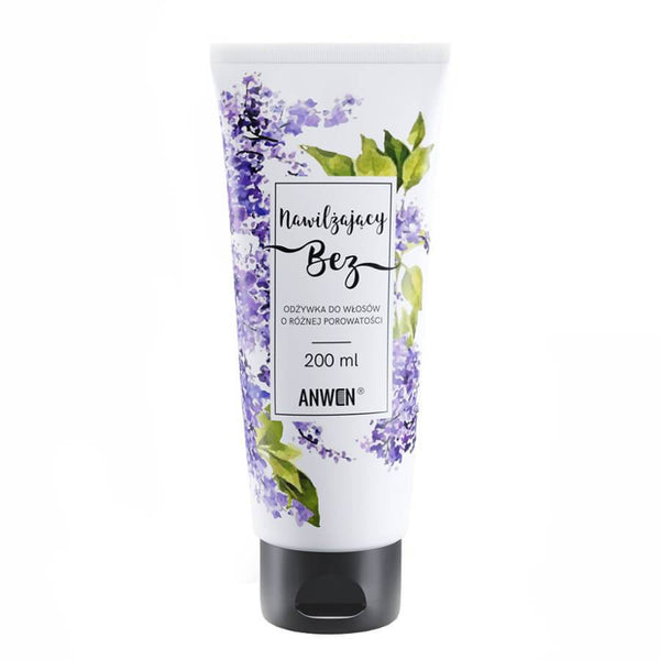 anwen lilac moisturizing hair conditioner 200ml