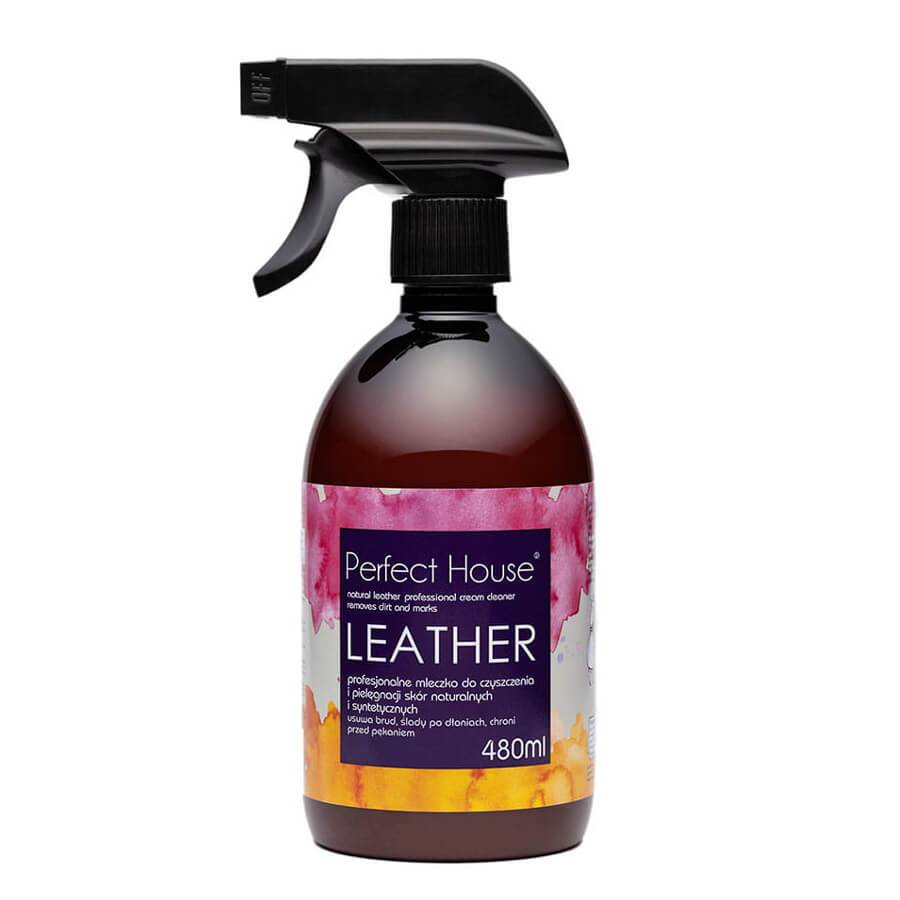 perfect house leather cream cleaner 480ml barwa