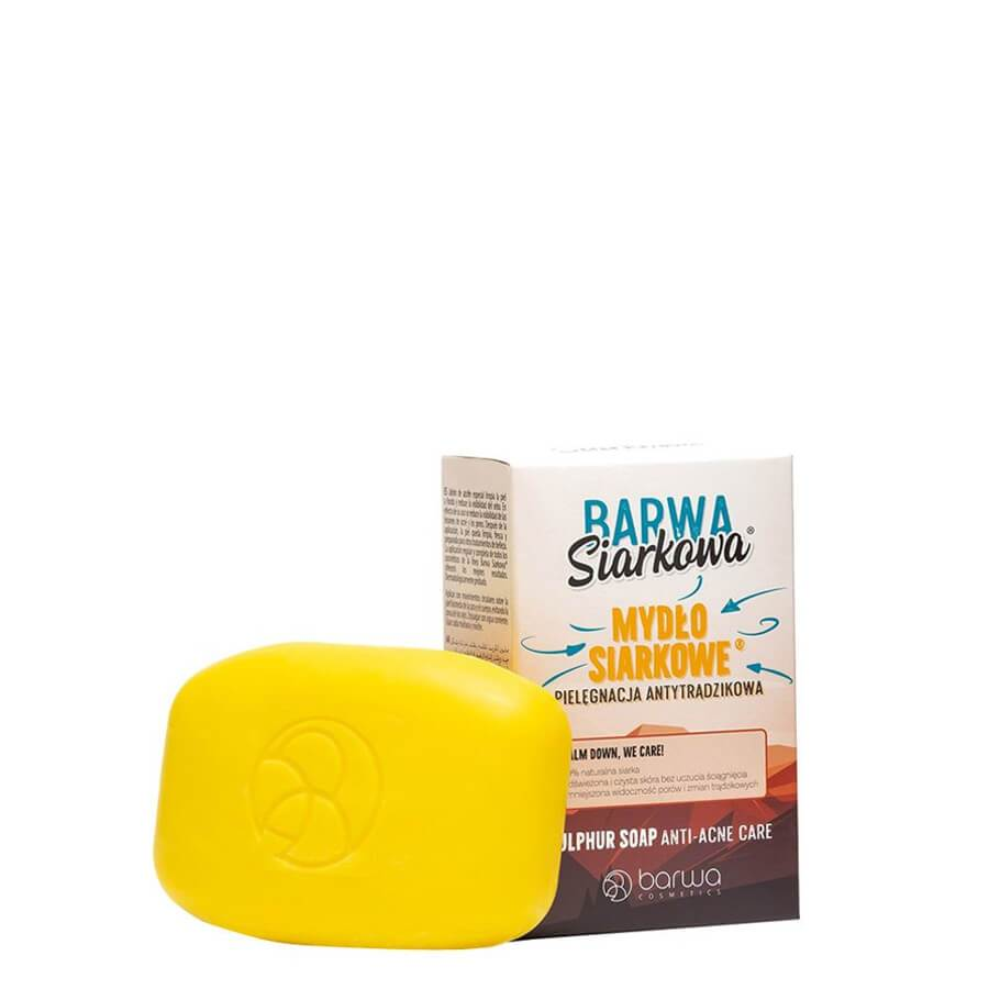 barwa anti acne soap sulfuric 1pcs