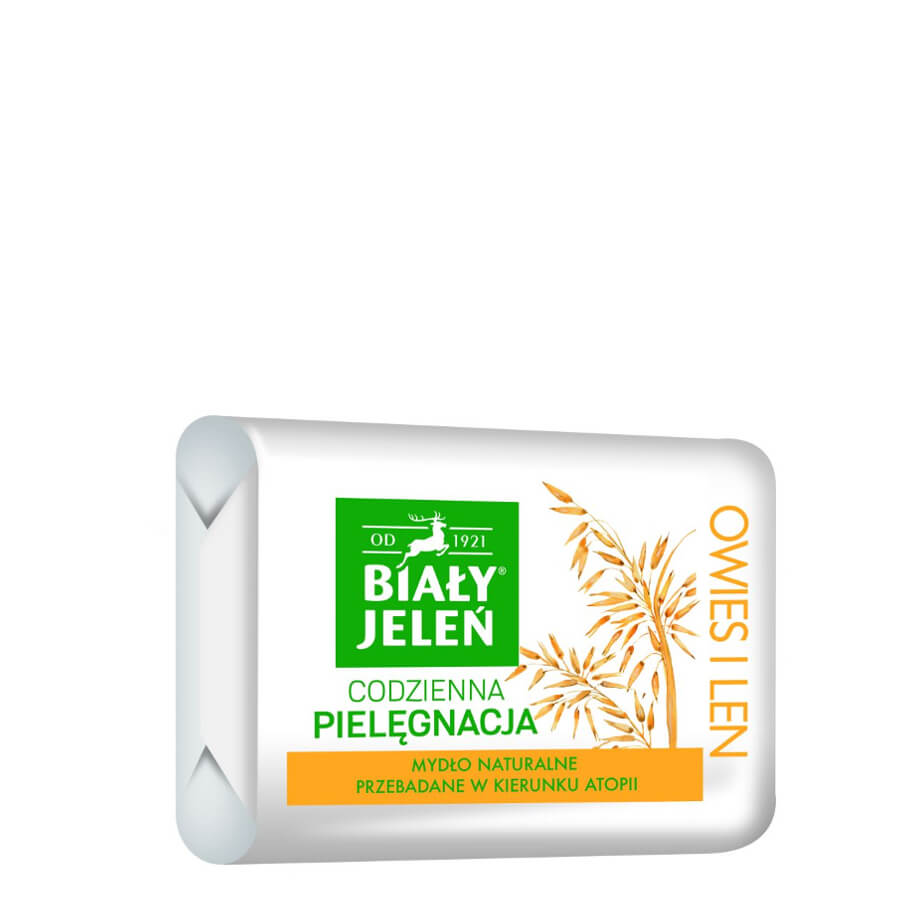 bialy jelen natural hypoallergenic soap bar oat 100g