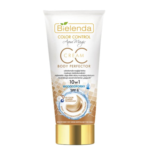 bielenda waterproof body cream cc correcting color cream