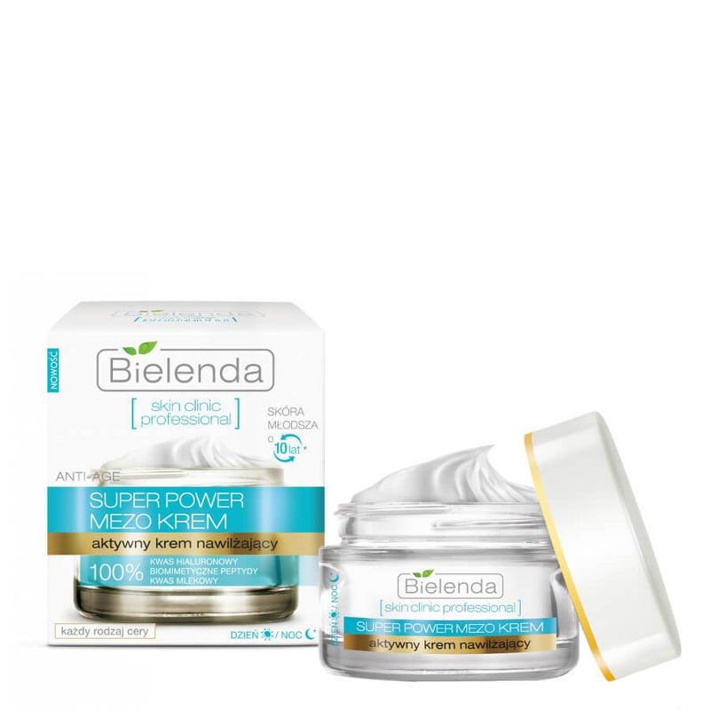 Bielenda Skin Clinic Mezo Active Moisturizing Anti Age Cream