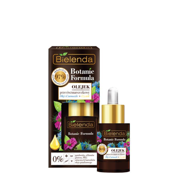 botanic formula anti wrinkle face oil black cumin and cistus