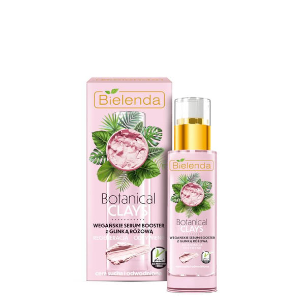 Bielenda Botanical Clays Vegan Serum with Pink Clay