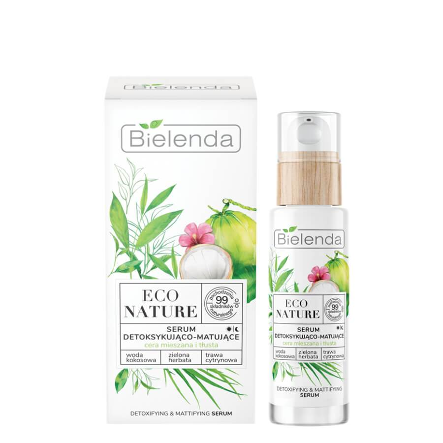 bielenda eco nature serum oily and mixed skin 30ml vegan