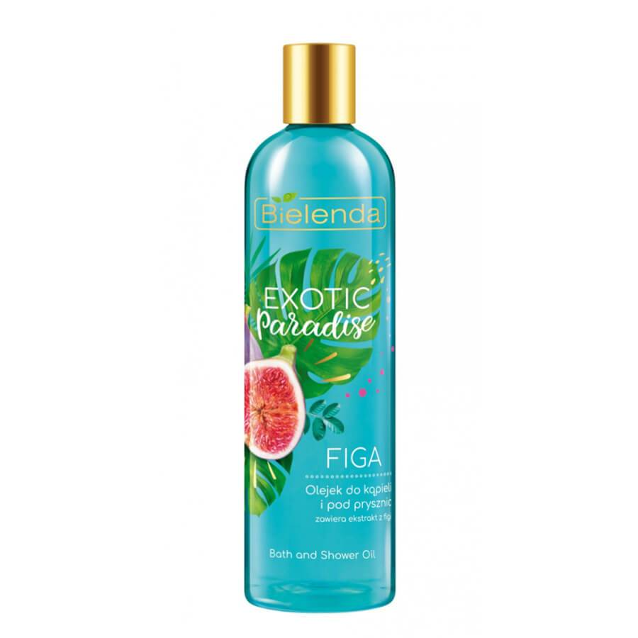 bielenda bath shower oil fig exotic paradise 400ml