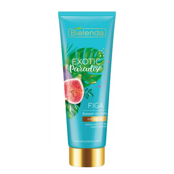 bielenda nourishing body balm lotion exotic paradise fig