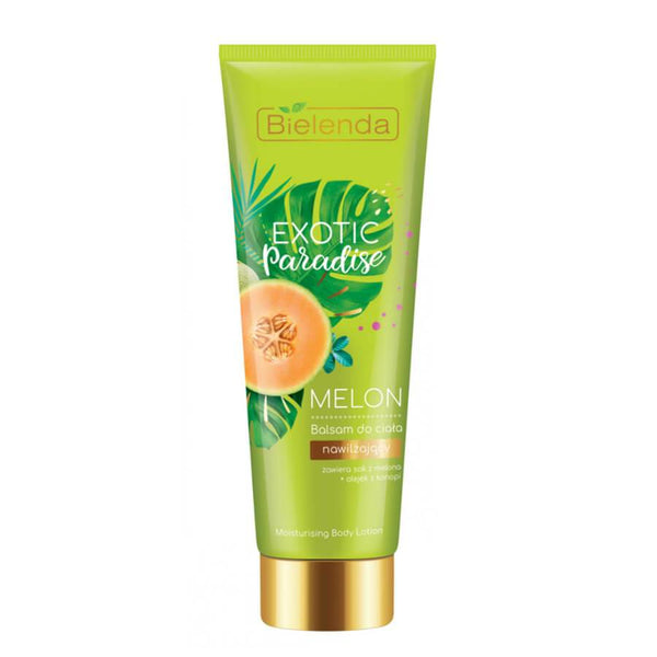 melon moisturizing body lotion balm bielenda exotic paradise
