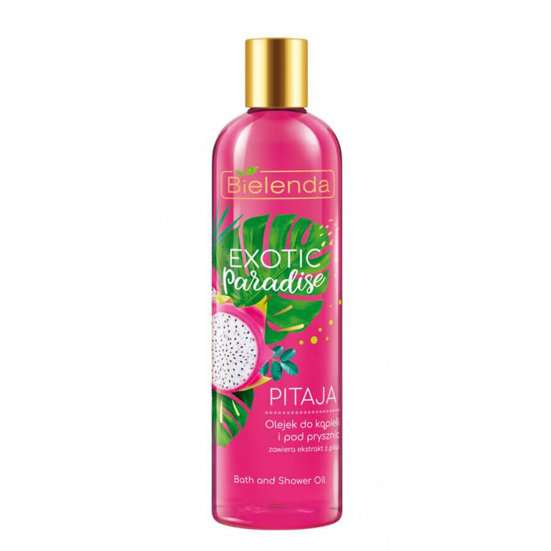 exotic paradice bielenda bath and shower body oil pitaya