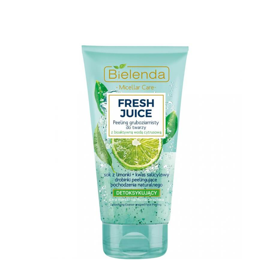 bielenda face scrub lime fresh juice 150g