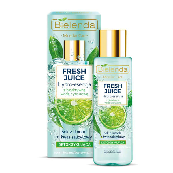 bielenda fresh juice detoxifying essense serum for face lime