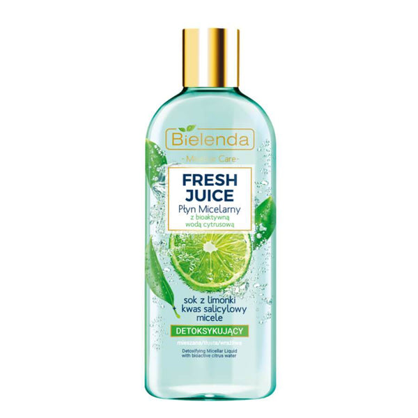 fresh juice bielenda detoxifying micellar liquid 500ml