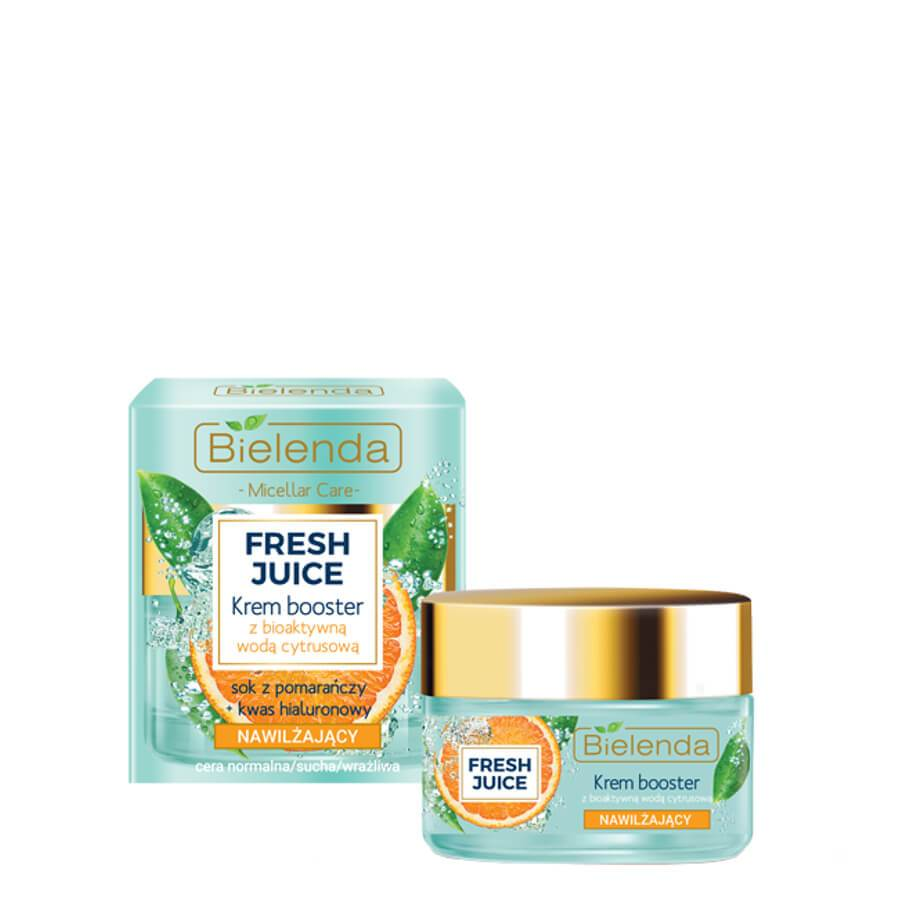 Bielenda Fresh Juice Moisturizing Orange Cream Booster hydrating