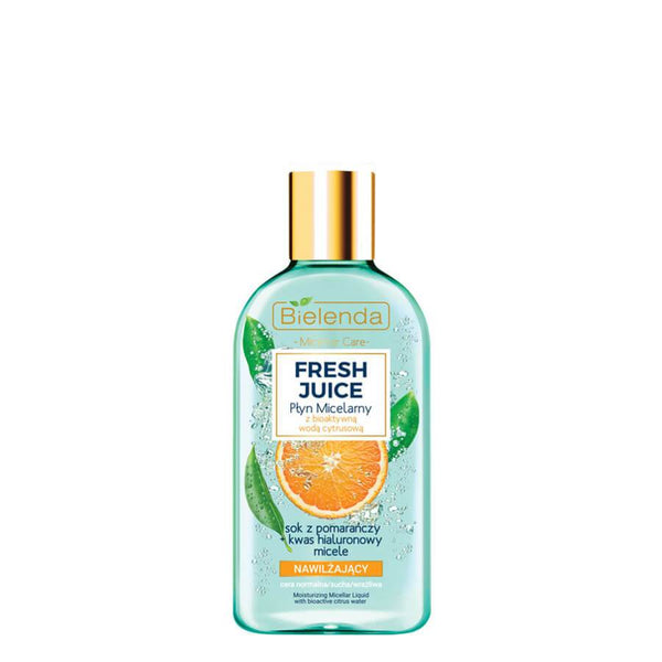 bielenda fresh juice micellar moisturizing liquid with orange juice 100ml