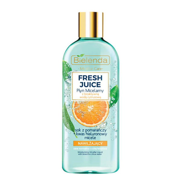 fresh juice bielenda moisturizing micellar liquid 500ml orange