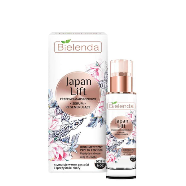 bielenda anti wrinkle regenerating facial serum japan lift 30ml
