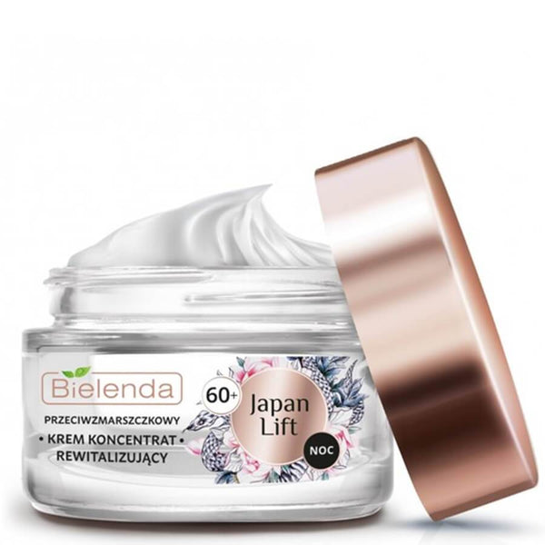 Bielenda Japan Lift Anti Wrinkle Revitalizing 60 plus anti age Night Cream