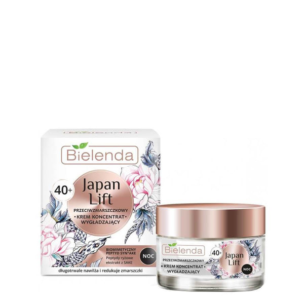 Bielenda Japan Lift Anti Wrinkle Smoothing 40 anti ageing anti wrinkles mature skin Night Cream