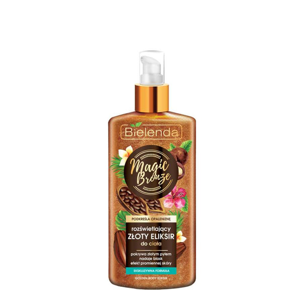 bielenda magic bronze golden elixir new illuminating body lotion
