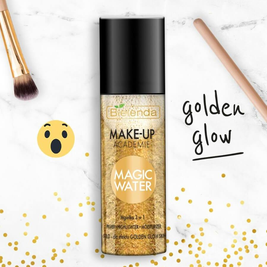 bielenda gold magic water mist makeup academy 150ml