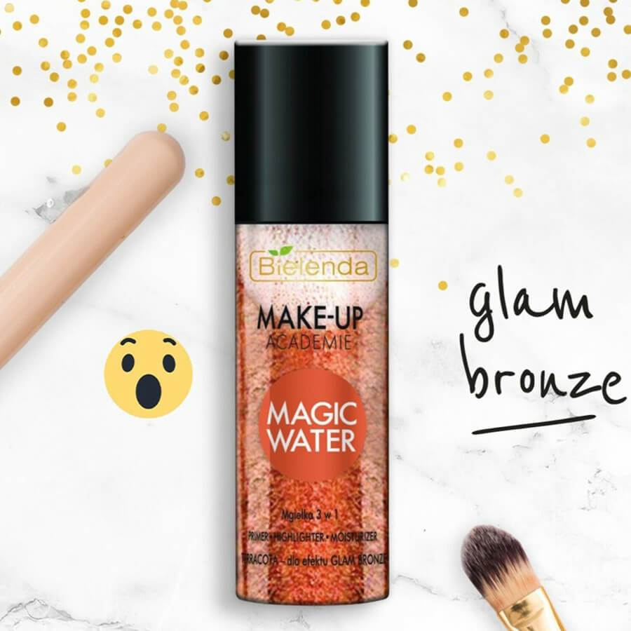 bielenda terracota makeup academi magic water