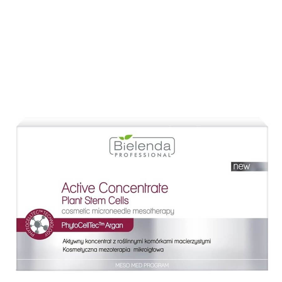 bielenda active concentrate in ampoule plant stem cells