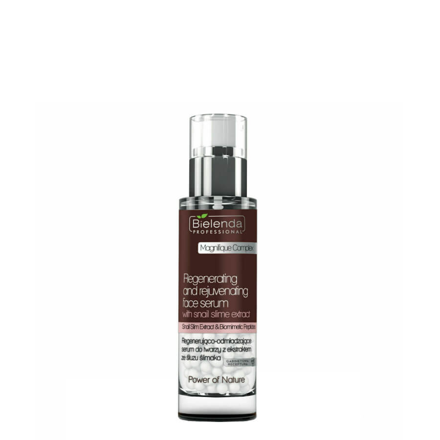 bielenda professional rejuvenating and regenerating facial serum 30ml with snail slime extract