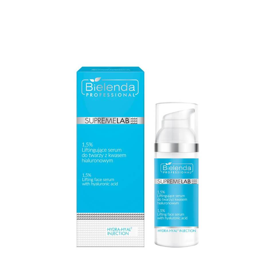 bielenda professional serum with 1.5% hyaluronic acid supremelab