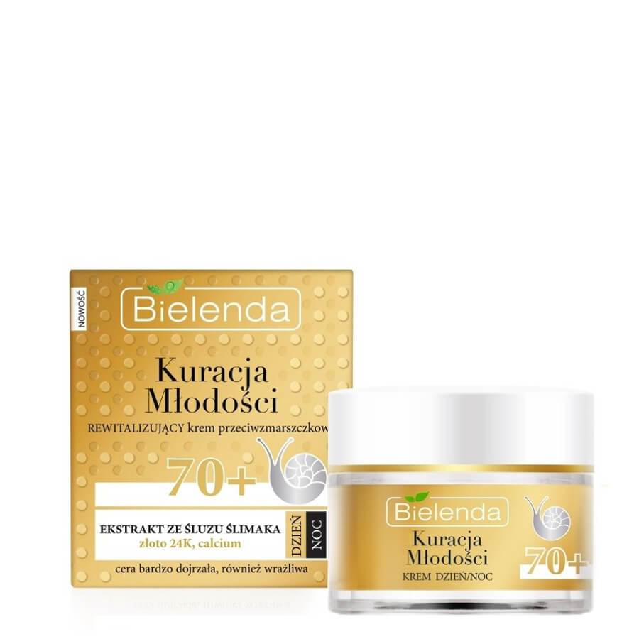 Bielenda Youth Treatment Revitalizing Anti Wrinkle 70+ Face Cream very mature skin snail mucus slime